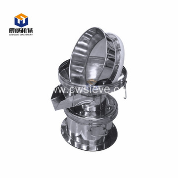 small capacity 450 series round filter sieve machine