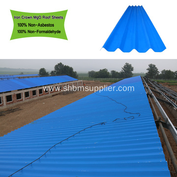 MGO Anti-corosion Insulating Fireproof Roof Tile