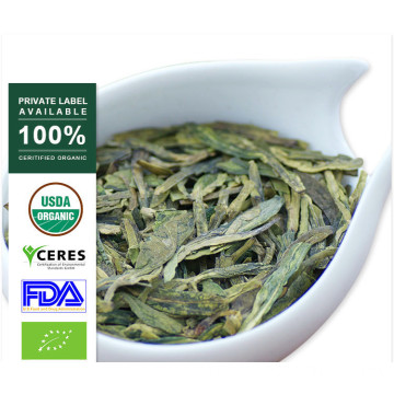 100% Natural Spring Premium Lun Jing Green Tea
