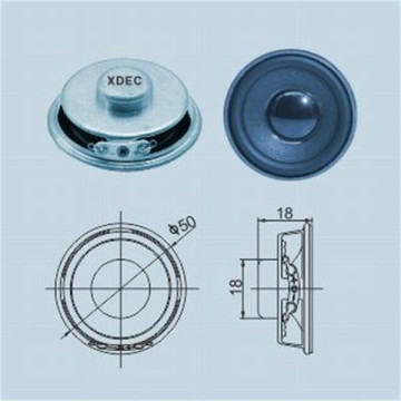 50mm 4 ohm 3W Multimedia Electric Train Speaker