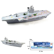Aircraft Carrier Model Military Planes Simulation Aircraft Carrier Static Model With 6 Airplane Kids Children Gift Toys