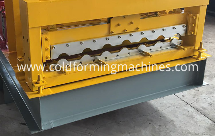 glazed tile roll forming machine 18