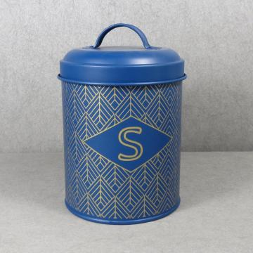 Home Basics Tin Canister