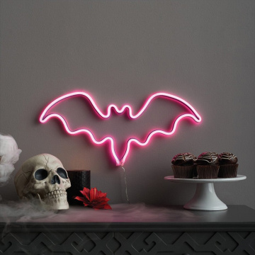 BAT LIGHT LED LED NEON BIGN