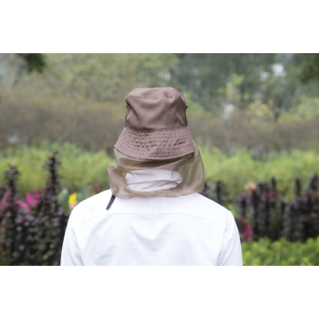 Full Cover Protected Polyester Mosquito Net Hat