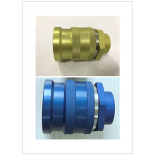 Yellow FF0B Female ISO16028 Quick Coupling