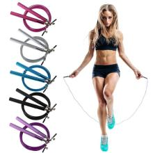 Aluminum Speed Jump Rope Professional Skipping Rope For MMA Boxing Fitness Skip Workout Training With Carrying Bag Spare Cable