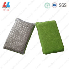 Luxury long scouring silver sponge helper