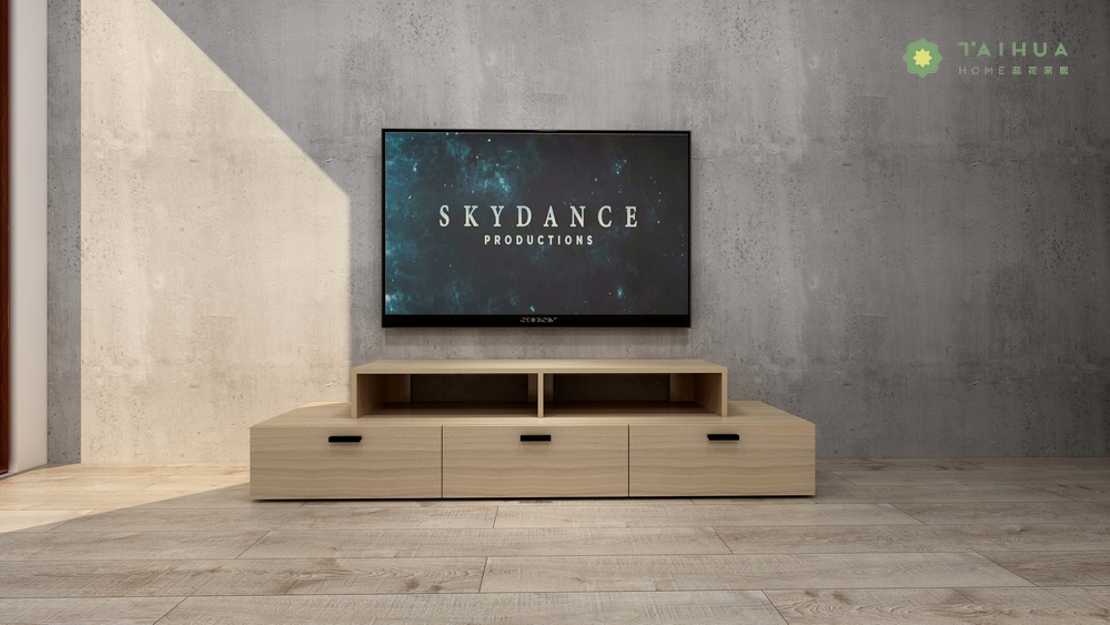 TV Stand with Drawers and CD Rack