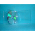 Clear double square Jewel cd box CD case cd cover