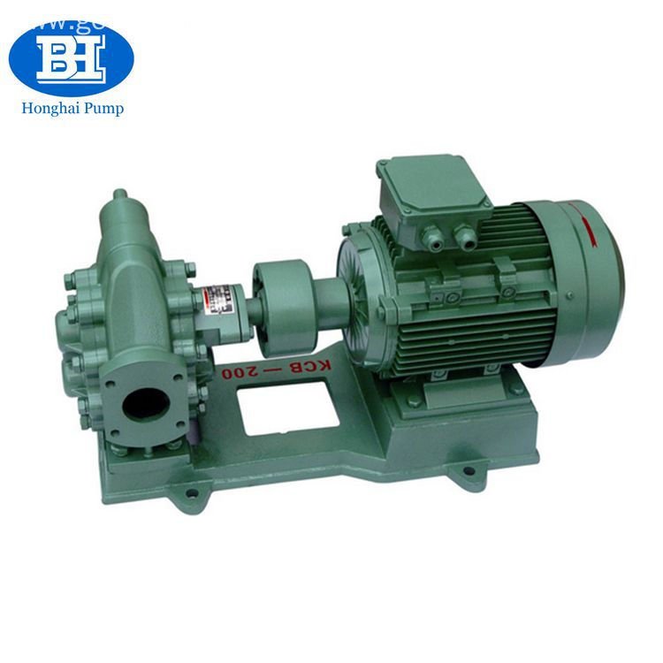 Industrial crude oil gear pump