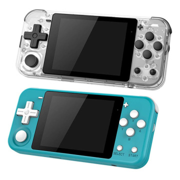 POWKIDDY Q90 3.0 inch IPS Screen Handheld Game Console Dual Open System 16 Simulators 16GB Retro Video Game Player Gift For Kids