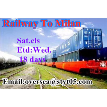 Railway Transportation To Milan