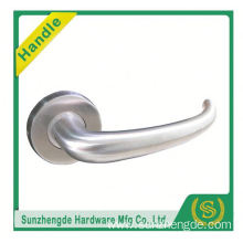 SZD STLH-008 Stainless Steel Interior Double Sided Door Handle on Rosette