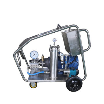 800bar high pressure washer for ship yard