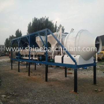 Philippines Mini Mobile Concrete Mixing Plant