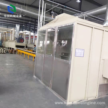 New Automatic Efficient Customized Multi-power Aluminum Powder Coating Line