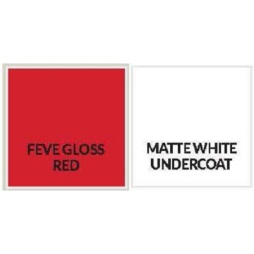 Feve Gloss Red Aluminium Sheet