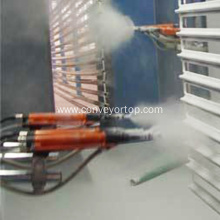Automatic UV Coating Spraying Painting Production Line