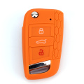 Grosir Golf7 Silicone 3 Kancing Kunci Car Key