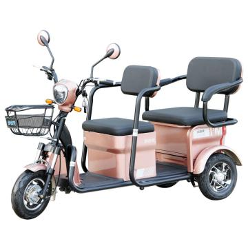 Elderly leisure electric tricycle 650W passenger Tricycle