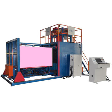 Auto vacuum polyurethane foam making machine
