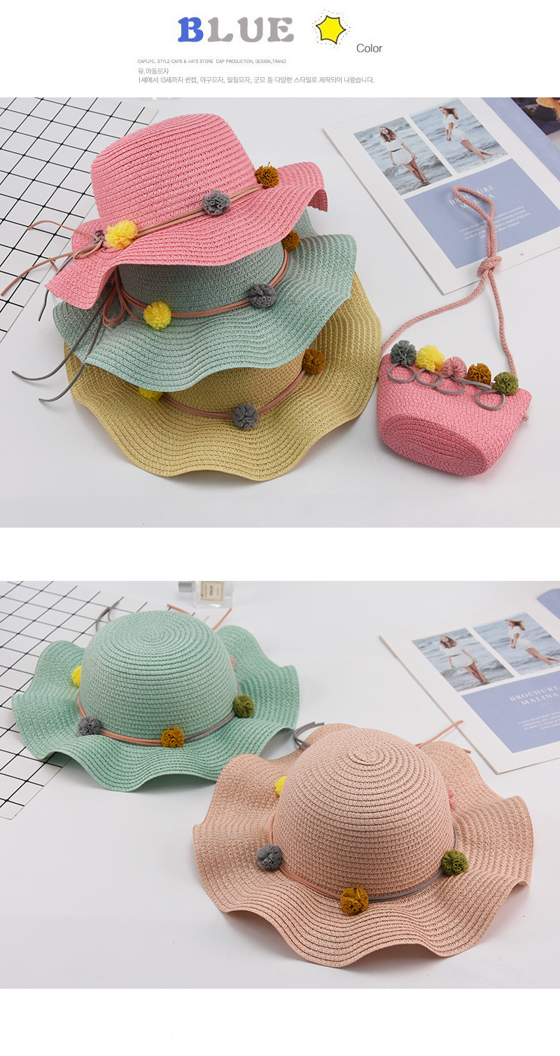 Children Summer Straw Hat China Supplier