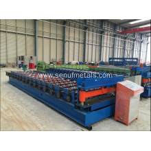 Container roof panel making machine ibr sheet roll forming