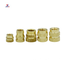 CNC Knurled Brass Insert Nut for Insert Molding