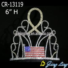 High quality Custom King Crowns Flag shape