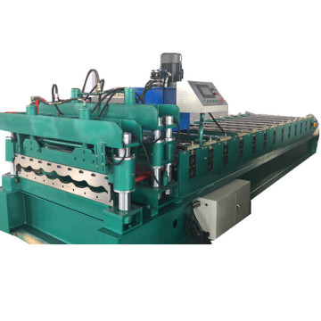 For Serbia Glazed Steel Tile Making Machine