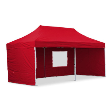 Red color aluminum gazebo folding beach tent canopy tent 3x6