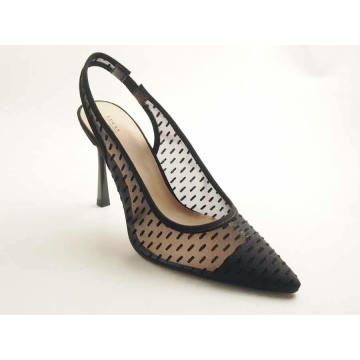 Ladies pointy toe high heel pump