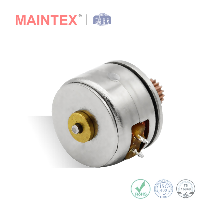 stepper motor, stepper motor for POS machine, permanent magnet type stepper motor