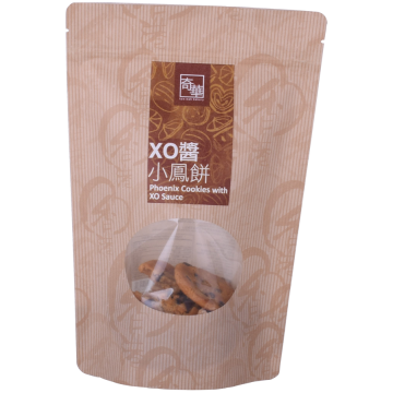 Customized Kraft Paper Coffee Bag with Window