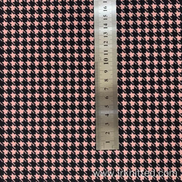 Factory Custom Hound Tooth Check Printing Fabric