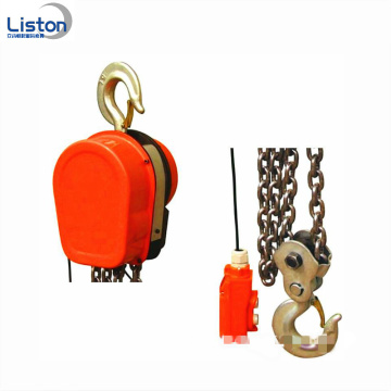 Slow lifting speed DHS type 10ton electric hoist