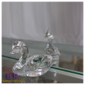 Hand Made Glass Duckling Ornament For Home