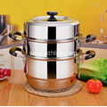 Induction Cooking Stainless Steel Steamer Pot High Quality