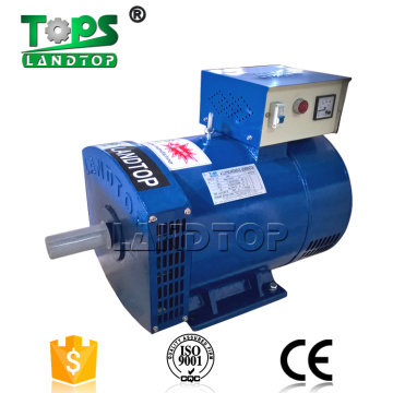 Single phase 2kva to 50kva ac brush alternators