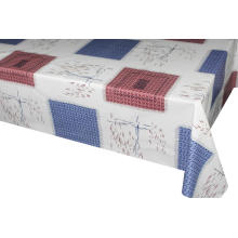 Lattice pattern and abstract lines tablecloths