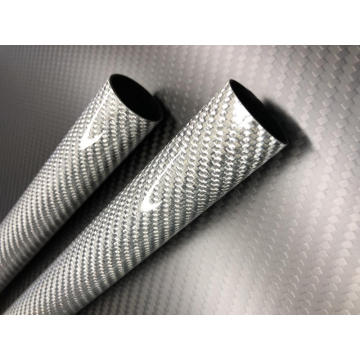 3k twill weave carbon fiber tubing cfrp pipes