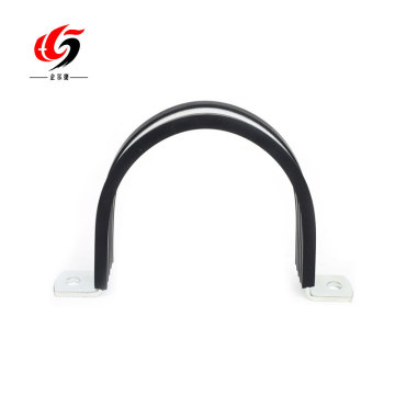 saddle pipe clamp for tube