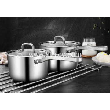 Stainless Steel Multi-function Thickened Milk Pot