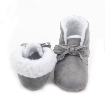 Wholesale Leather Warm  Kids Boots Winter
