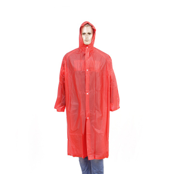 factory sale reusable long raincoat