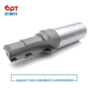 PCD d bit dovetail milling end cutter