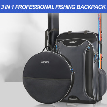 Thick Wearproof Waterproof Fishing Bag Large Capacity Fishing Gear Backpack Fishing Chair Bags Outdoor Accessory Bag X138G