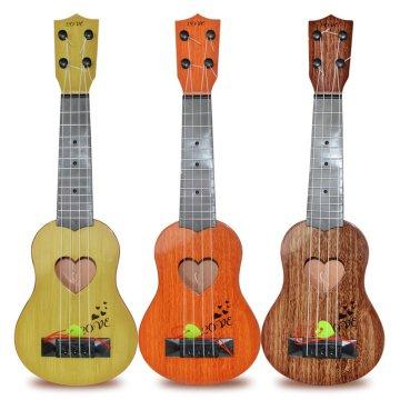 Kids Toys Guitar Beginner Classical Ukulele Guitar Educational Musical Instrument Toy for Kids Funny Stringed Musical Instrument