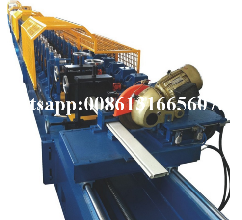 77 Pu Foam Shutter Door Roll Forming Machine